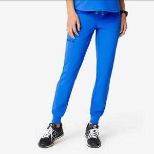 Figs Zamora pants SMALL Royal Blue